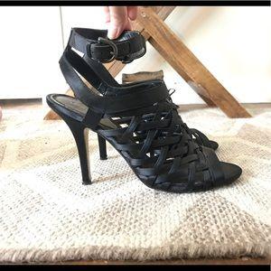 Black strappy heels - Max Studio